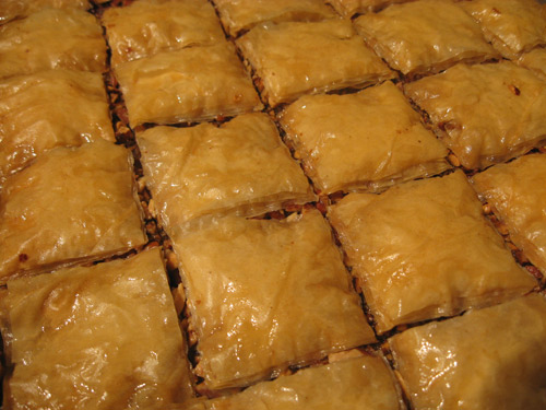 Sheet of Baklava