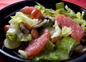 Salad with Grapefruit (click picture to enlarge)