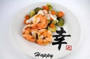 Shrimp with Brussels Sprouts (click to enlarge)