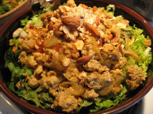 Vietnamese Style Salad with Pork